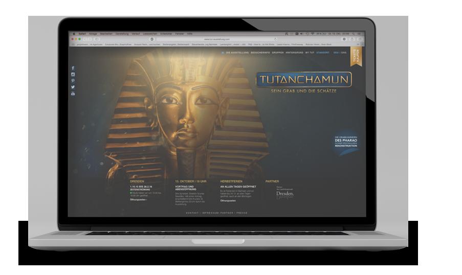 TUTANCHAMUN Webseite