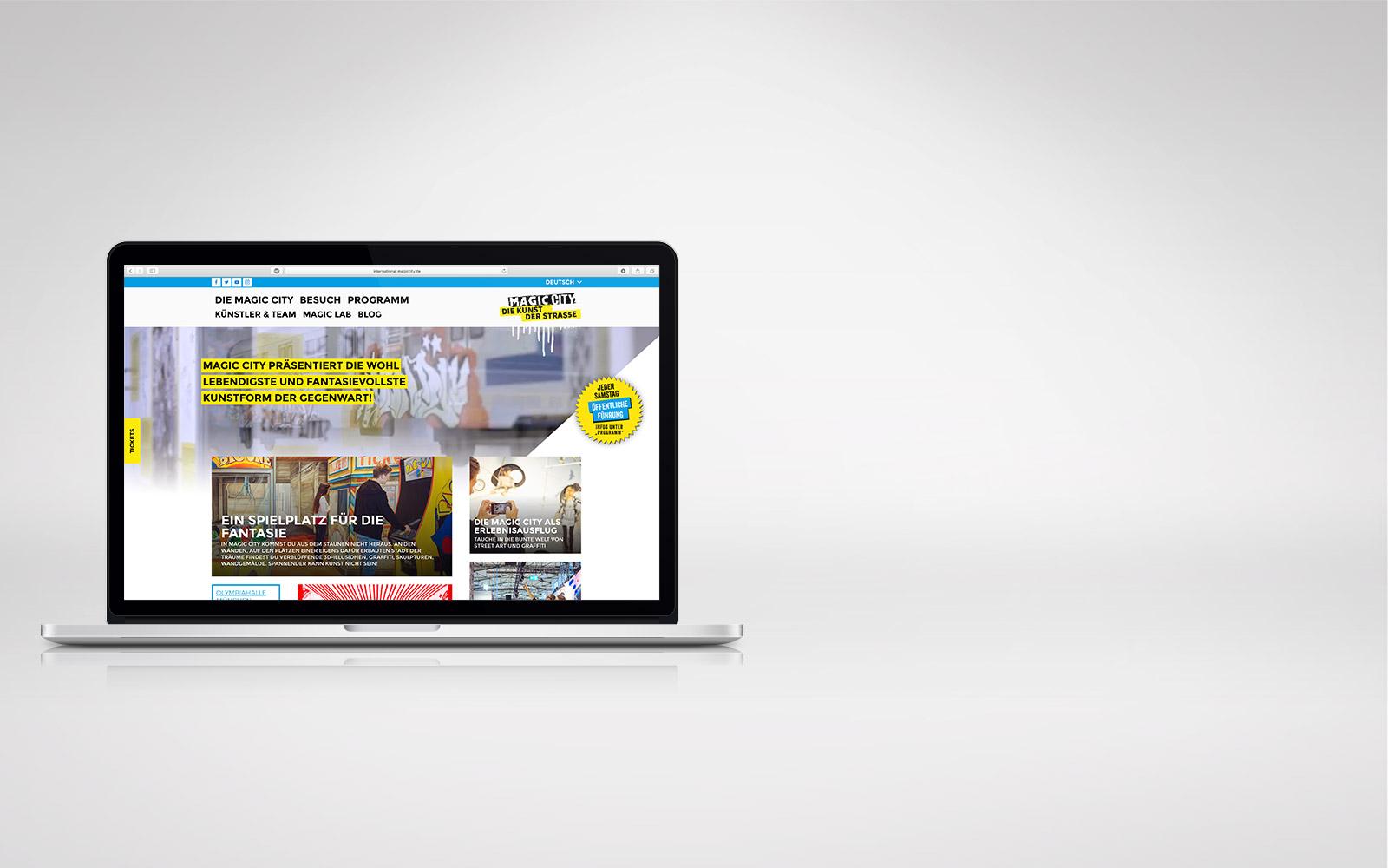 Webdesign Hamburg – MagicCity