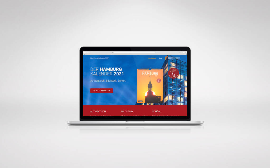 Landingpage Webdesign Wordpress